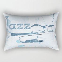 Jazz Trumpet Rectangular Pillow