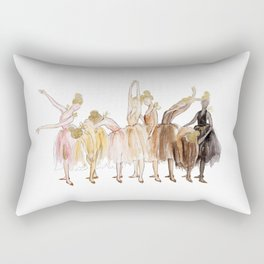 Ballerinas Rectangular Pillow