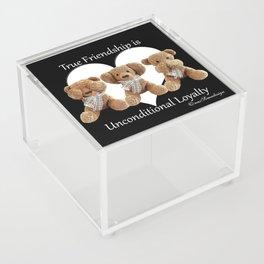 Teddy & Lily Acrylic Box