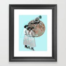 Gothic Moon Maker Framed Art Print