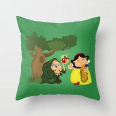 Snow White (witch) Throw Pillow