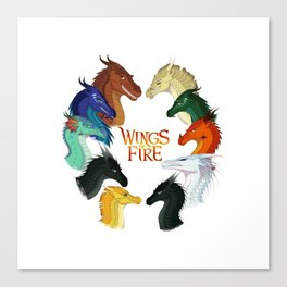 Wings of Fire Canvas Print
