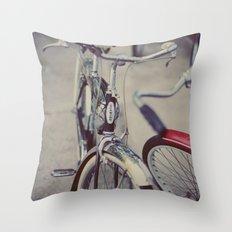 Summer Rides Throw Pillow