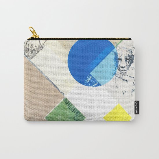 abstract dog sketch Carry-All Pouch