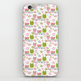 Whimsy Owls iPhone Skin