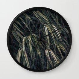 Fields of grass Wall Clock