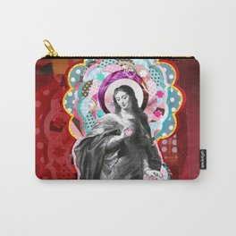 Maria (mãe de Jesus) Mary (mother of Jesus) #3 Carry-All Pouch