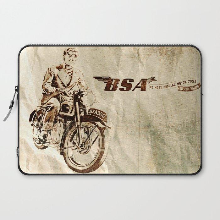 BSA - Vintage Poster Laptop Sleeve