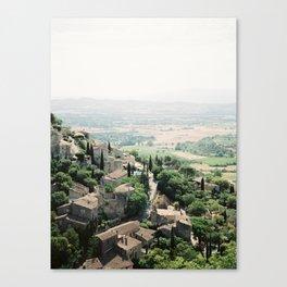 Gordes, Luberon - View Canvas Print