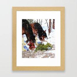 Clydesdales Framed Art Print