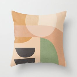Abstract Art / Shapes 12 Throw Pillow
