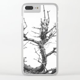 Lifeless Until Spring Clear iPhone Case