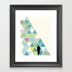 Obstacle Framed Art Print