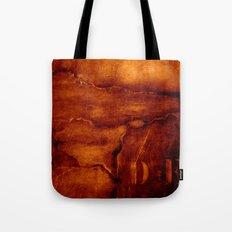 brown wall Tote Bag