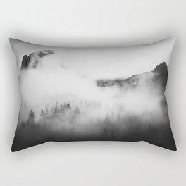 Fog Movin' In Rectangular Pillow