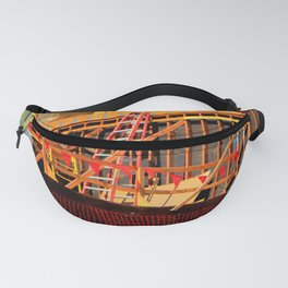 Under Over Construction Fanny Pack