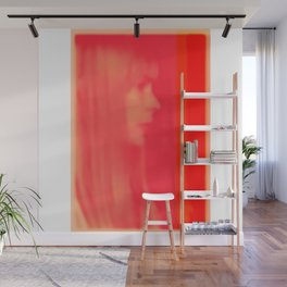 joni mitchell (pink) Wall Mural