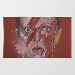 Portrait of Bowie Rug