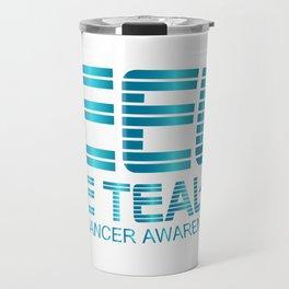 Ovarian Cancer Awareness Travel Mug