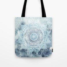 DEEP BLUE MANDALA Tote Bag