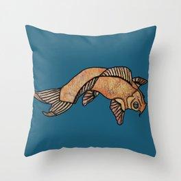 Koi Friends Throw Pillow