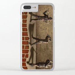 Ledge of Sanity Clear iPhone Case
