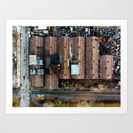 Packard Storage Art Print