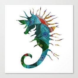 Seahorse Flow Canvas Print