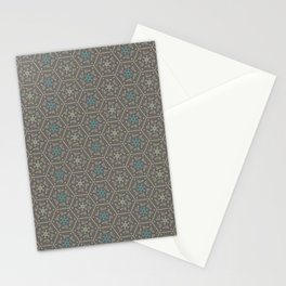 Going round and round - Orange/Taupe/Teal Stationery Cards