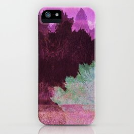 The Indian Ink Peaks 4 iPhone Case