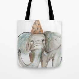 Elephant Sized Fun Tote Bag