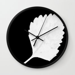 BE LIKE A LEAF #11 Wall Clock