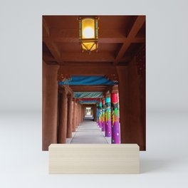 IAIA Museum Porch Santa Fe NM Mini Art Print