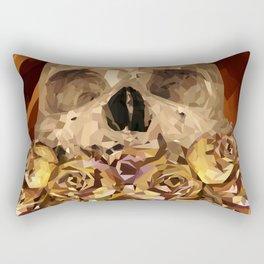 Flowery Tongue Rectangular Pillow