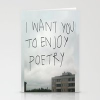 poetry Stationery Cards featuring poetry by Willow Summers