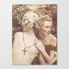 Elena & Dylan Canvas Print