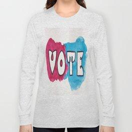 Vote Power Block Long Sleeve T-shirt