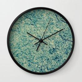 Cracking Blue Wall Clock