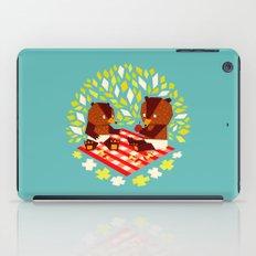 picknick bears iPad Case