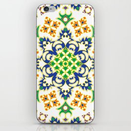 Mandala II - Primary Colors iPhone Skin