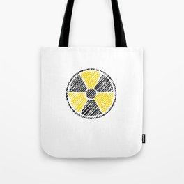 Radiology Radiation Logo Rad Tech Student Tote Bag