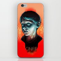 ouat iPhone & iPod Skins featuring Henry - OUAT by Seventy-three