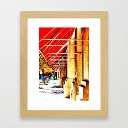 Canopy Walk Framed Art Print