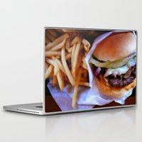 burger Laptop & iPad Skins featuring burger by SantaCruz PhotoTours
