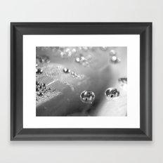 Two BW Framed Art Print
