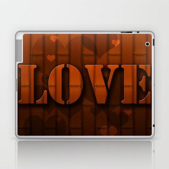 LOVE!  Laptop & iPad Skin