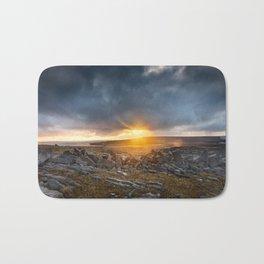 Sunrise Inishmore Aran Islands Ireland Bath Mat