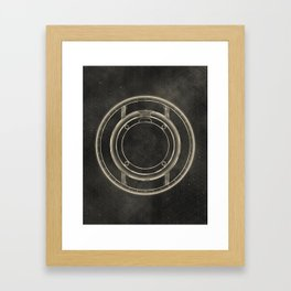 Tron: Identity Disc Framed Art Print