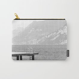 Swimming at lake Garda Italy Carry-All Pouch
