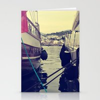 sailing Stationery Cards featuring sailing by gzm_guvenc